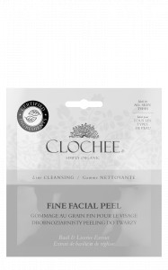 Clochee Peeling drobnoziarnisty do twarzy SASZETKA 2x6 ml