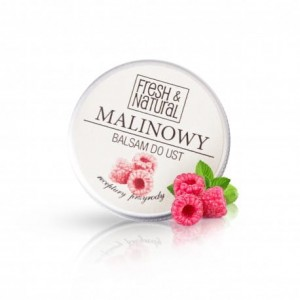 Fresh&Natural Balsam do ust malinowy 15 ml