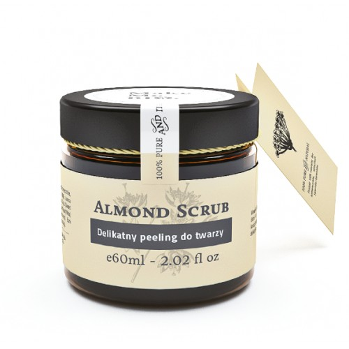 Delikatny peeling do twarzy Almond Scrub Make Me BIO 60ml.png